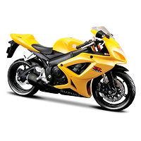 Suzuki GSX-R600 масштабная модель мотоцикла 1:12