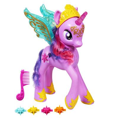 Интерактивная фигурка пони Твайлайт Спаркл 35 см Hasbro