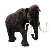 Интерактивная мягкая игрушка Мамонт (движущийся) 225 см