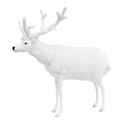 Интерактивная мягкая игрушка Олень белый 150 см