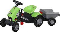 """Каталка-трактор с педалями """"Turbo-2"""" с полуприцепом"""