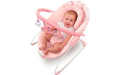 Кресло-качалка розовое Цветные сны