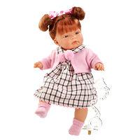 Кукла Паула виниловая 38 см