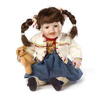 Кукла фарфоровая Бонни Сандерс 35 см