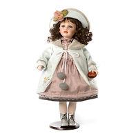 Кукла фарфоровая Дороти Бакли 61 см