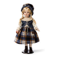Кукла фарфоровая Эмили Бакли 61 см