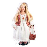 Кукла фарфоровая Ева Этингер 71 см