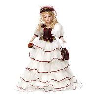 Кукла фарфоровая Леди Эджвер 61 см