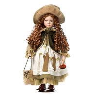 Кукла фарфоровая Мишель Грей 67 см