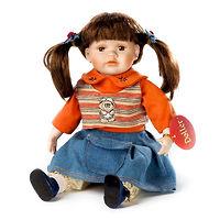 Кукла фарфоровая Нэнси Сандерс 35 см