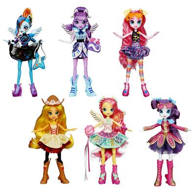 My Little Pony Equestria Girls кукла со стильной прической (6 видов)