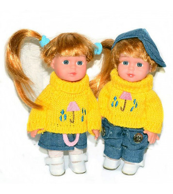 Кукла виниловая 20 см (маленькие)
