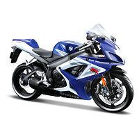 Suzuki GSX-R750 модель мотоцикла 1:12