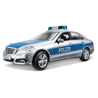 Mercedes Benz E-Class German Police version (1:18) модель автомобиля