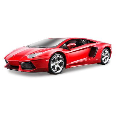 Lamborghini Aventador LP700-4 красный металлик-тюнинг (1:24) модель машины