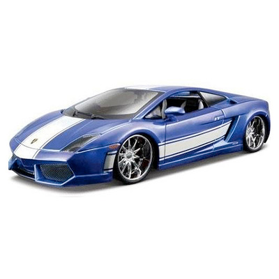 Lamborghini Gallardo LP560-4 синий тюнинг (1:24) автомодель