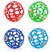 Мяч OBall с погремушкой 10 см