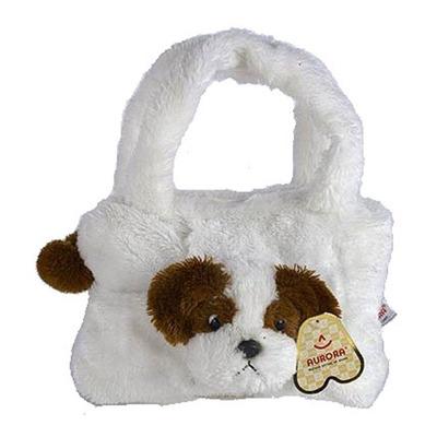 Мягкая игрушка - сумка Собака Ши Тцу 30 см