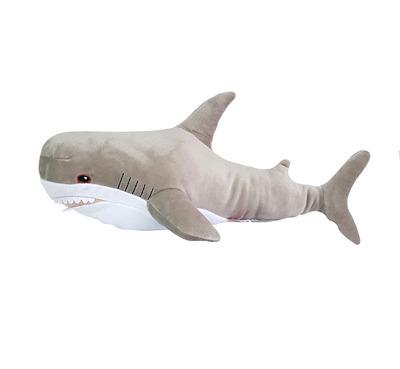 Мягкая игрушка Акула 47см Gray