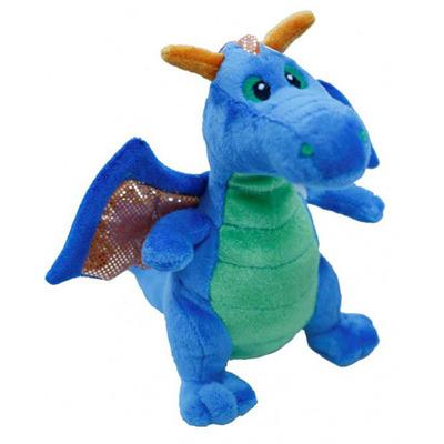 Мягкая игрушка Дракон Синий 20 см