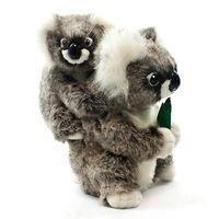 Мягкая игрушка Коала с детенышем 28 см