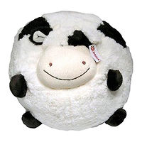 Мягкая игрушка Корова-шарик 13 см