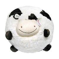 Мягкая игрушка Корова-шарик 18 см
