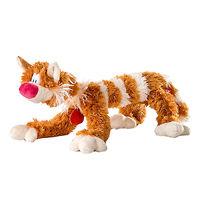 Мягкая игрушка Кот Бекон рыжий 65 см