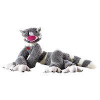 Мягкая игрушка Кот Бекон серый 130 см