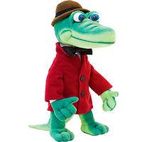 Мягкая игрушка Крокодил Гена музыкальный 32 см