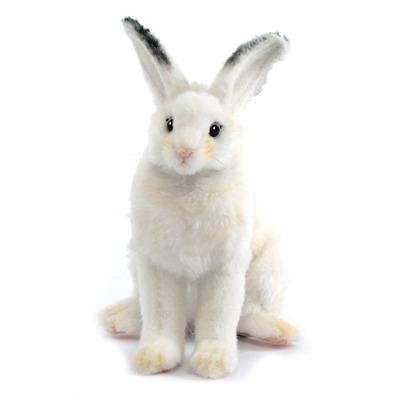 Мягкая игрушка Кролик белый сидящий 53 см