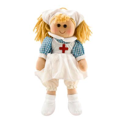 Мягкая игрушка Кукла медсестра 40 см