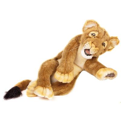 Мягкая игрушка Львенок лежачий 40 см