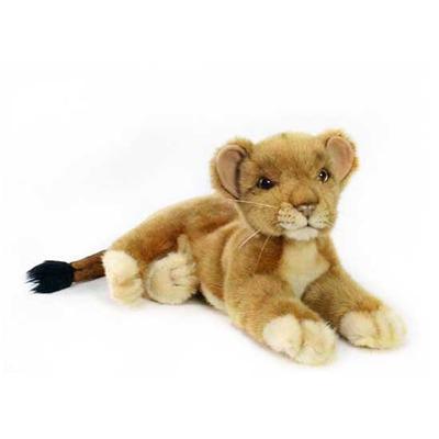 Мягкая игрушка Львенок лежащий 36 см