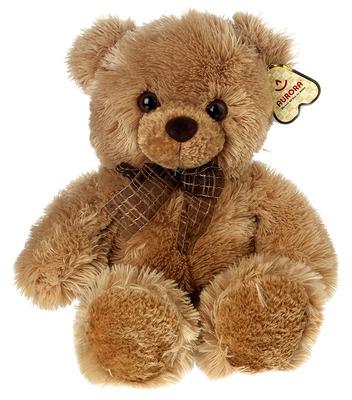 Мягкая игрушка Медведь коричневый 30 см
