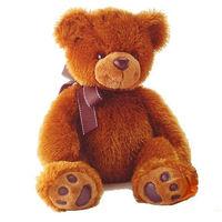 Мягкая игрушка Медведь коричневый 37 см