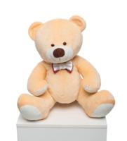 Мягкая игрушка Мистер Медведь бежевый 70см