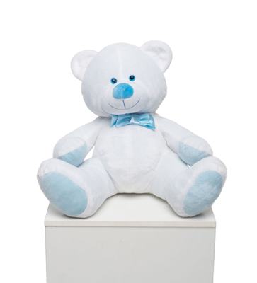 Мягкая игрушка Мистер Медведь белый 70см