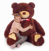 Мягкая игрушка Мистер Медведь бурый 160см