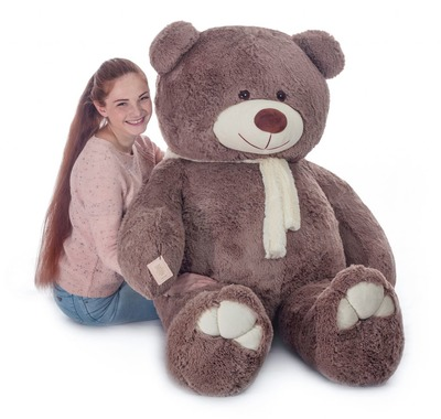 Мягкая игрушка Мистер Медведь капучино 200см