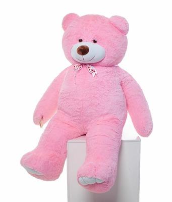 Мягкая игрушка Мистер Медведь розовый 200см