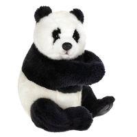 Мягкая игрушка Панда сидящая 25 см