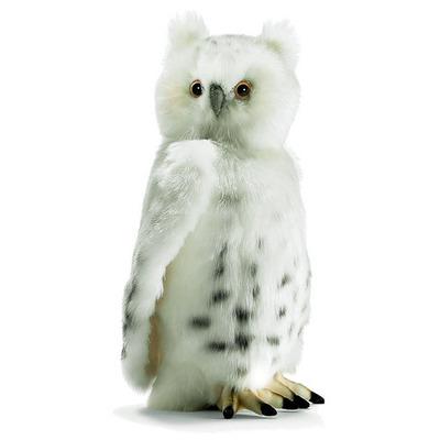 Мягкая игрушка снежно-белая Сова 33 см