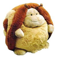 Мягкая игрушка Улитка шарик 18 см