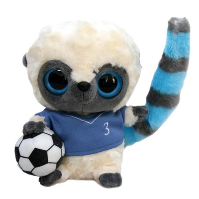 Мягкая игрушка Yoohoo Футболист голубая футболка 20 см