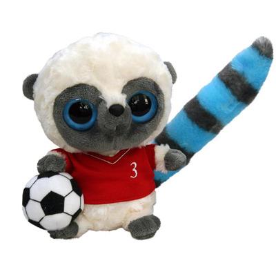 Мягкая игрушка Yoohoo Футболист красная футболка 20 см