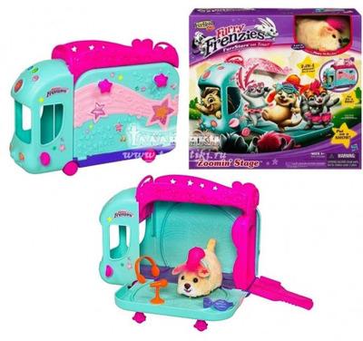 Мягкая игрушка Зверюшка в автобусном туре FurReal