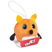Мягкая игрушка-брелок Глазастик Лиса 8 см
