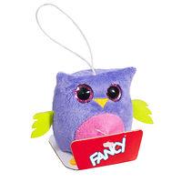 Мягкая игрушка-брелок Глазастик Сова 8 см