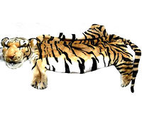 Мягкая игрушка коврик Тигр 150 см